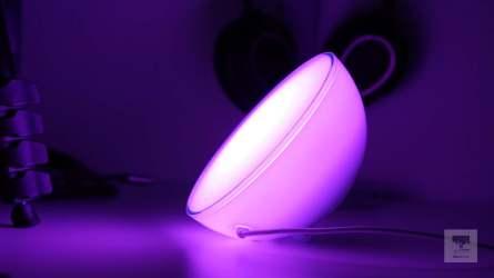 Violettes Licht