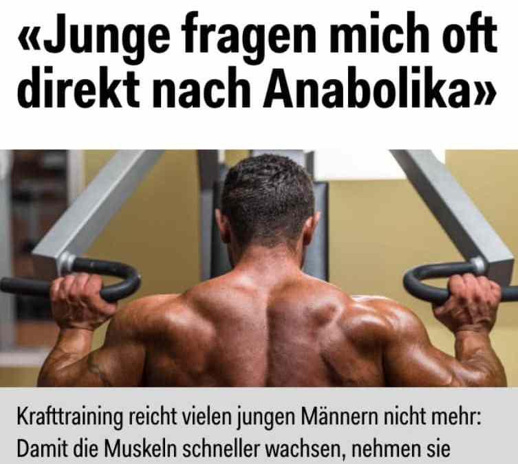Die Wahrheit über Anabolika?