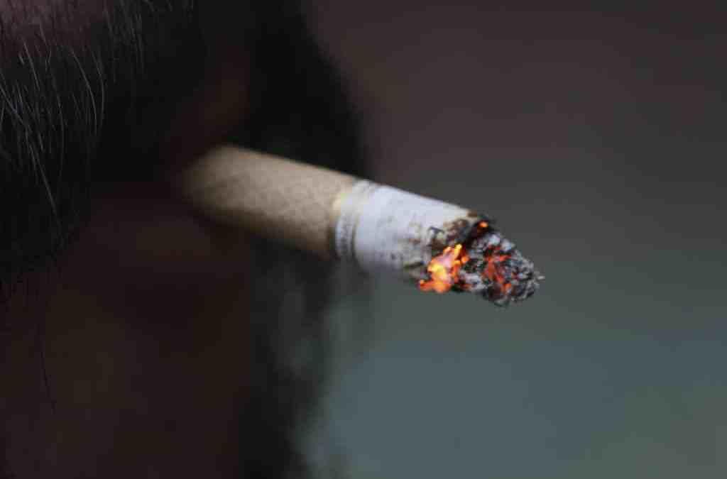 Wer das Rauchen aufgibt nimmt zu?
