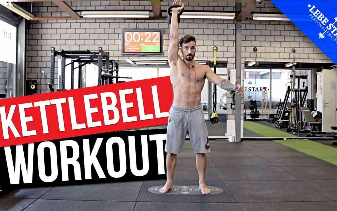 Kettlebell Workout für Anfänger AUF DEUTSCH – [ZUM MITMACHEN]