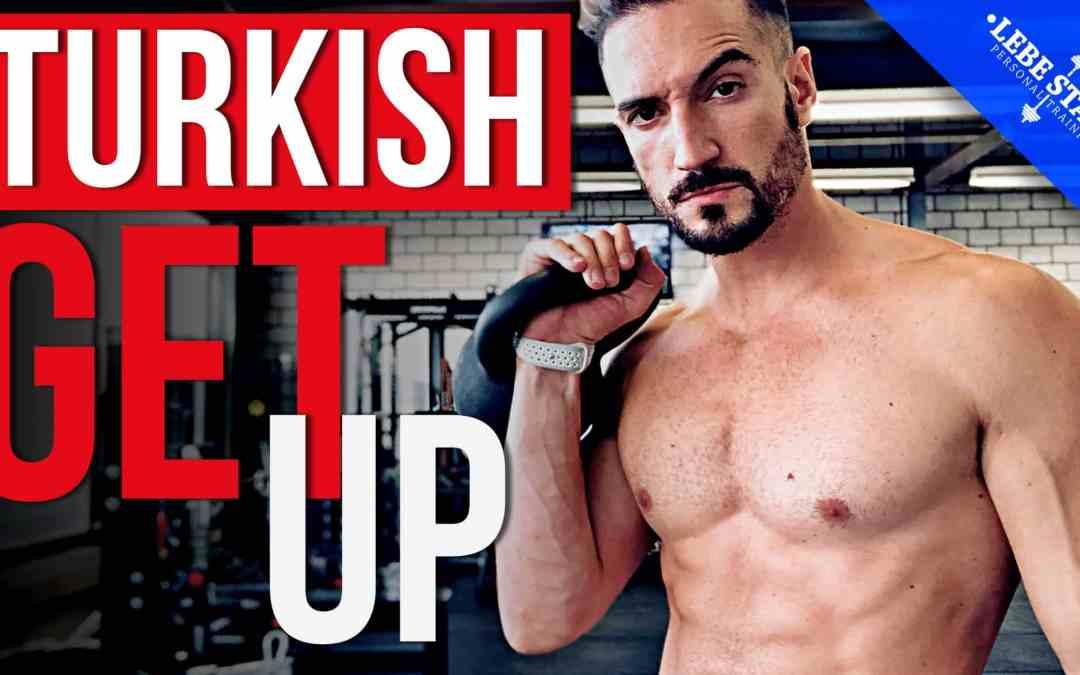 Turkish Get Up mit der Kettlebell für Anfänger – [TECHNIK TUTORIAL]