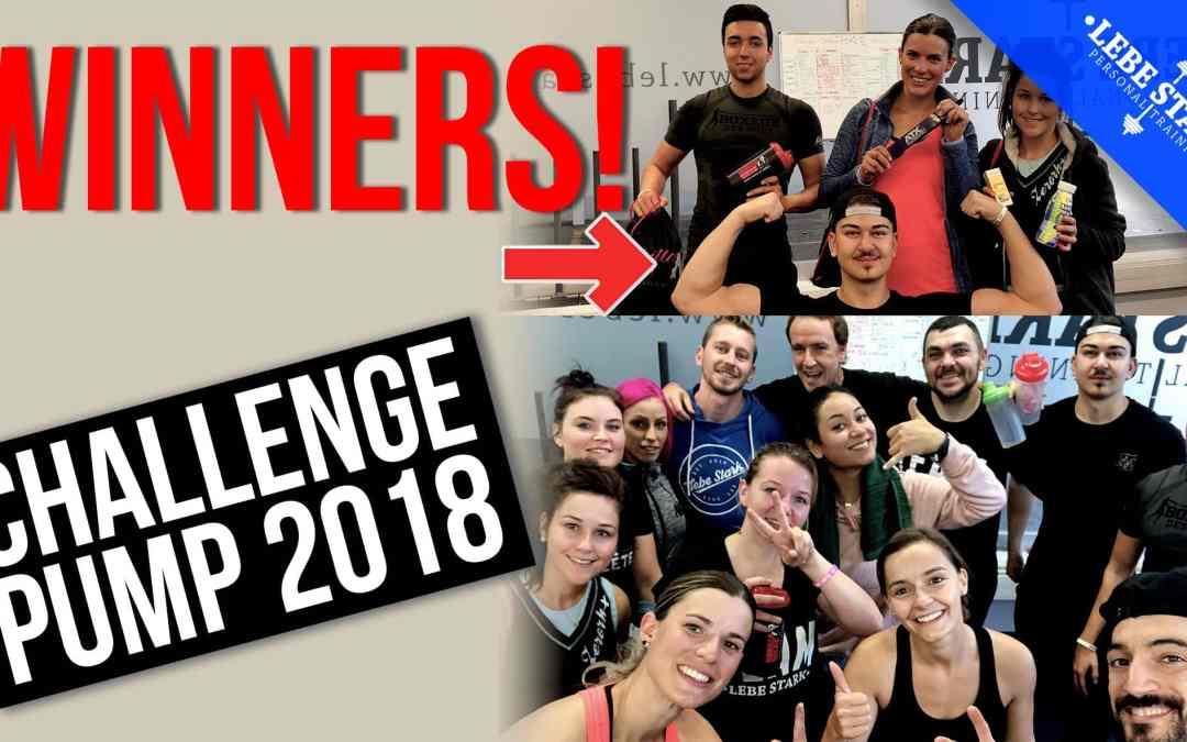 Der Challenge Pump 2018 war ein voller Erfolg!