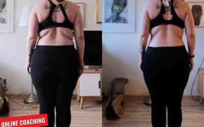 7 Kilo in 8 Wochen abgenommen! – Unser Online Coaching im Detail