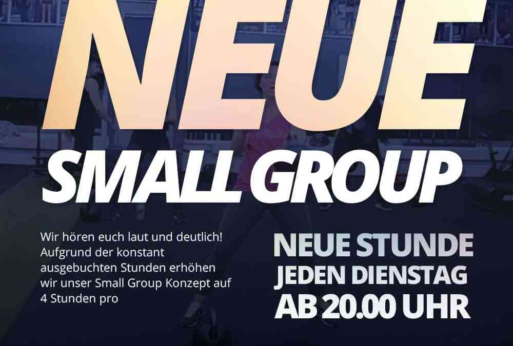 Neue Small Group & Kettlebells Only Stunde!