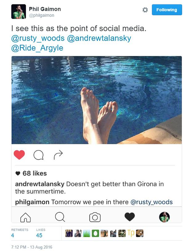 Ó Phil, ha veled lakhatnánk csak egy hetet!