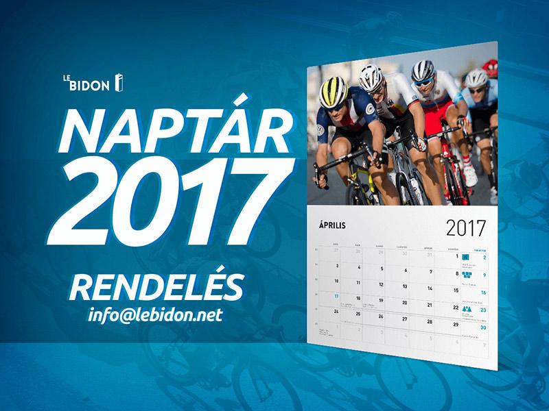 Bidon naptár 2017