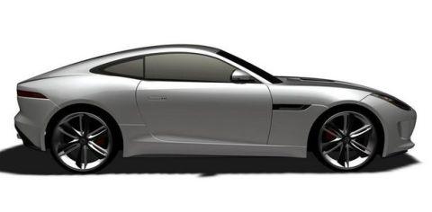 Jaguar F-Type Coupe side