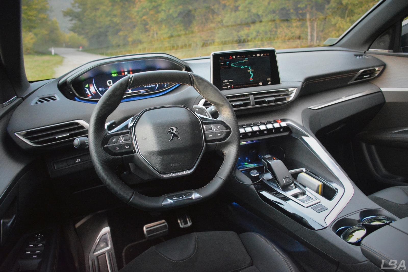 Essai du peugeot 3008 ii le billet auto test drive for Interieur 3008