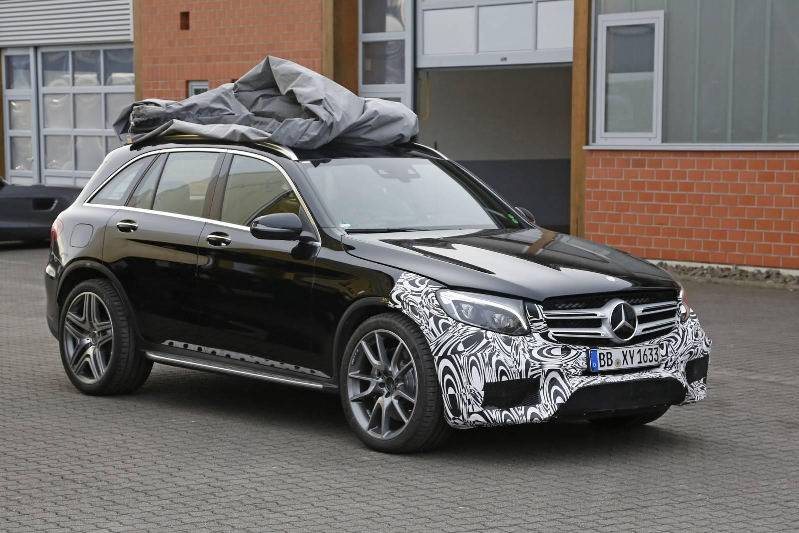 Un Mercedes GLC 63 AMG En Prparation Le Billet Auto