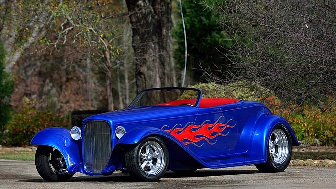 Ford Boyster II Streed Rod 1932 Construite par Boyd Coddington, Moteur LS6
