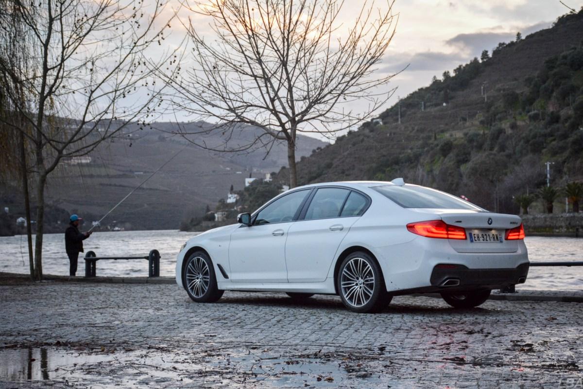 BMW-Serie5-530d-rear