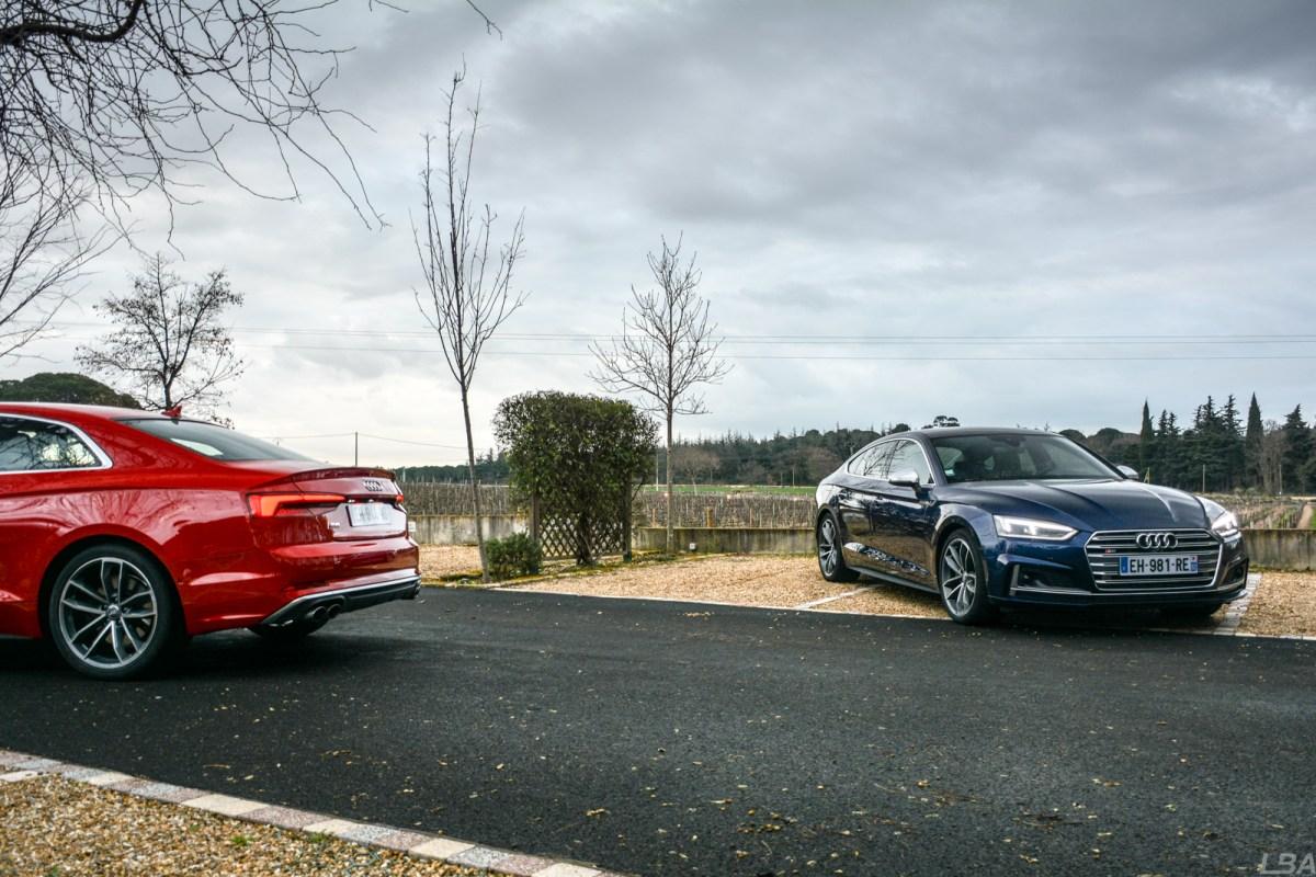 Audi S5 Coupé et Sportback