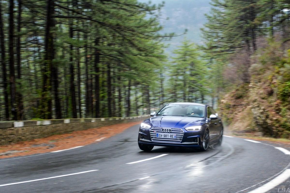 Audi S5 Sportback winding