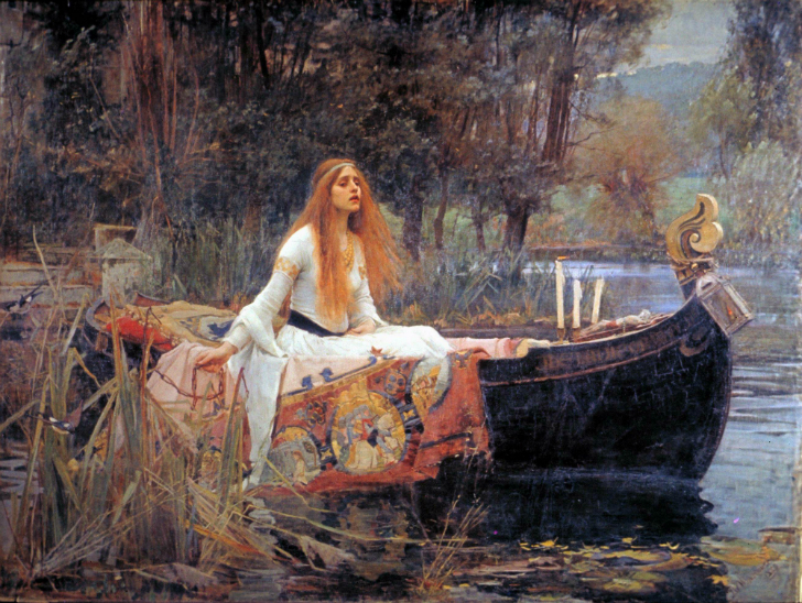 John William Waterhouse - Shalott leydisi