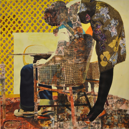 Njideka Akunyili Crosby, Nyado - The Thing Around Her Neck, 2011