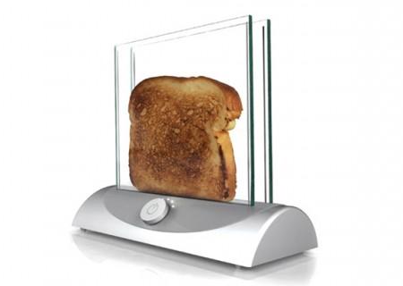 Toaster transparent