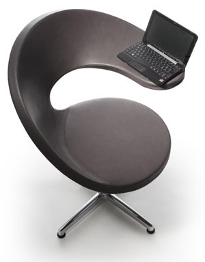 Chaise de bureau informatique N@t