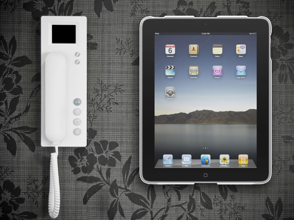 Wallee  Protection et fixation murale pour iPad