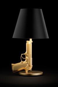 Lampe pistolet Bedside gun