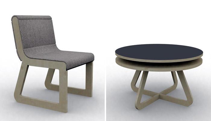 Chaise Et Table Basse Pour Enfant Playtime