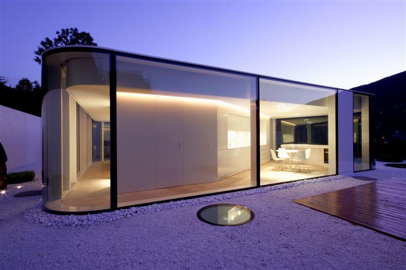 Maison En Verre Design Lugano House