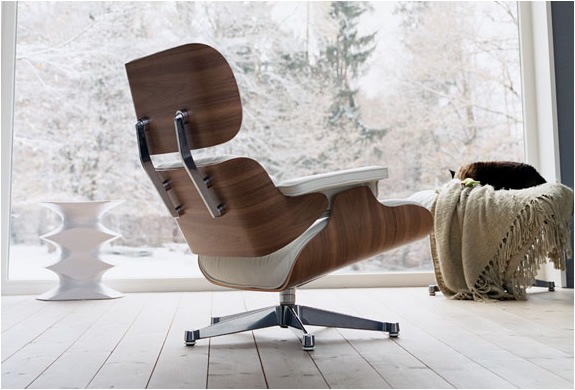 Charles Amp Ray Eames Fauteuil Lounge Chair Vitra