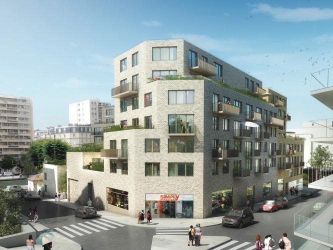 Canal Square Appartement Neuf Esprit Loft Paris 19