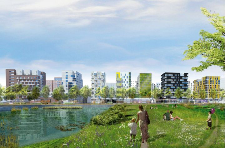 Les Docks De Saint Ouen Un Nouvel Co Quartier Aux Portes