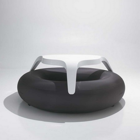 Table Boue Gonflable Donuts