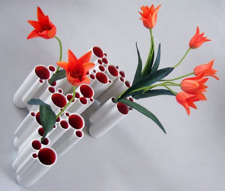 vase incassable design - Dip vase