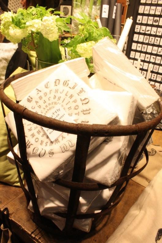 serviettes papier