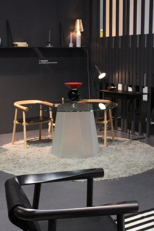 Kristal table diner V Wilmotte