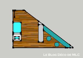 Aménagement-chambre-triangulaire
