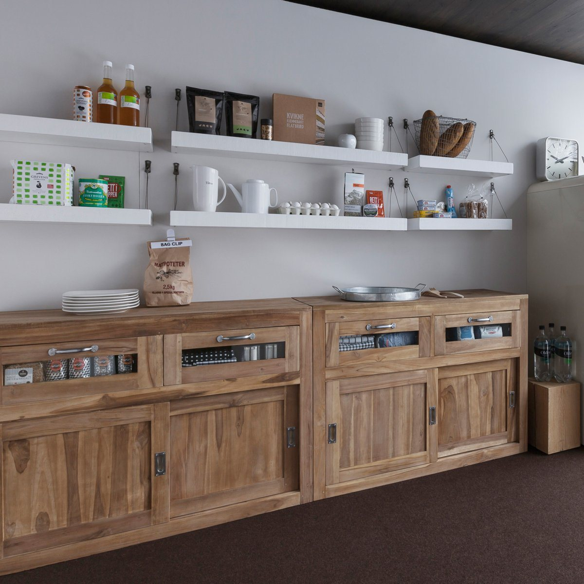 meuble cuisine bois brut | ambrid - Meuble Cuisine En Bois Massif
