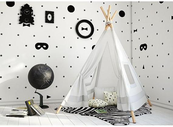 Decor-chambre-enfant-Humpty dumpty-room-masques