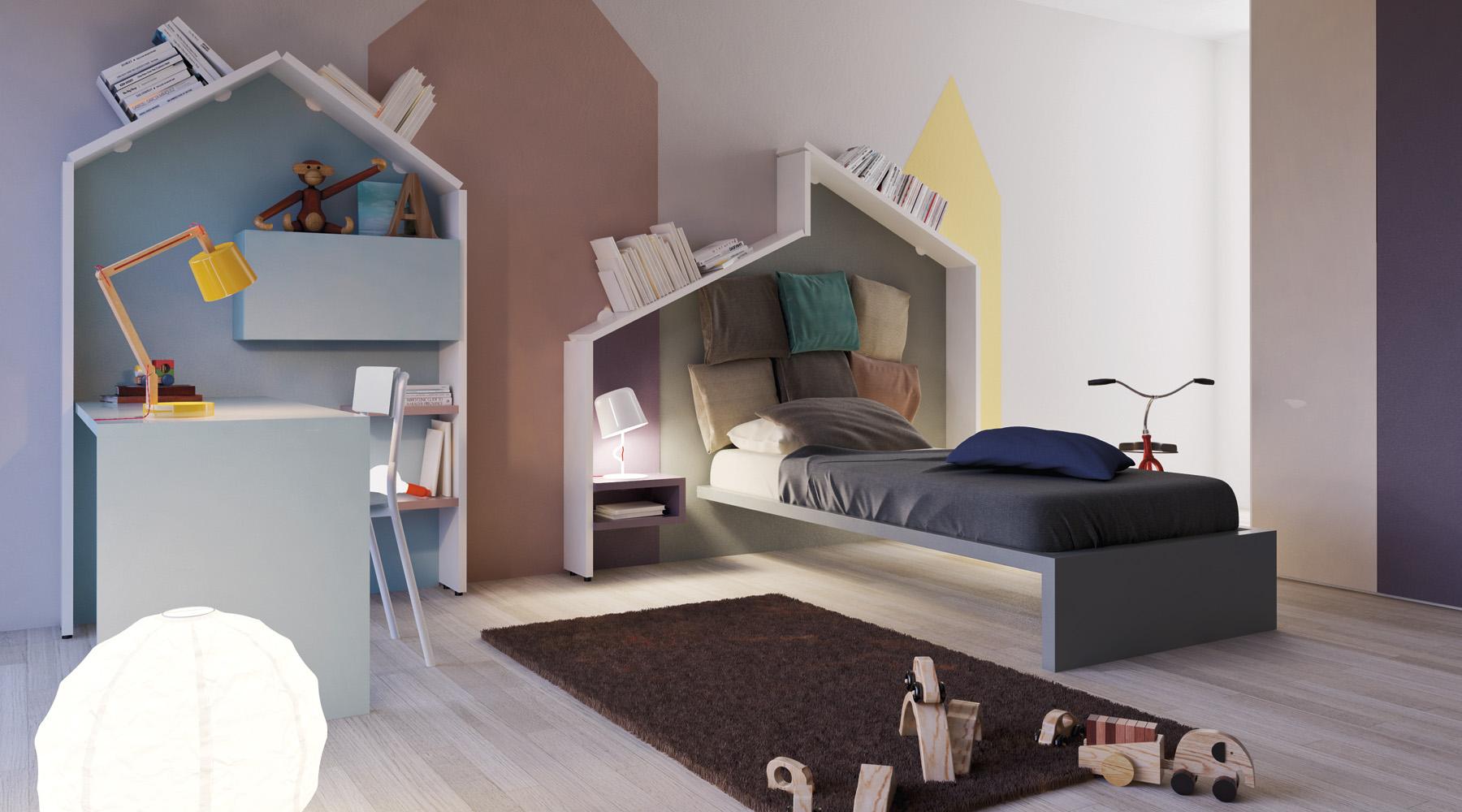 chambre enfant - déco de mur colorée - facile et bluffante - Le Blog ...