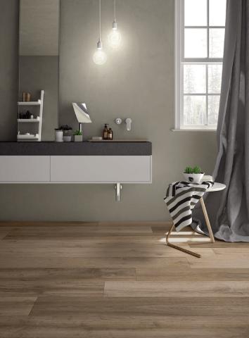 Carrelage parquet sol intérieur : salle de bain, salon