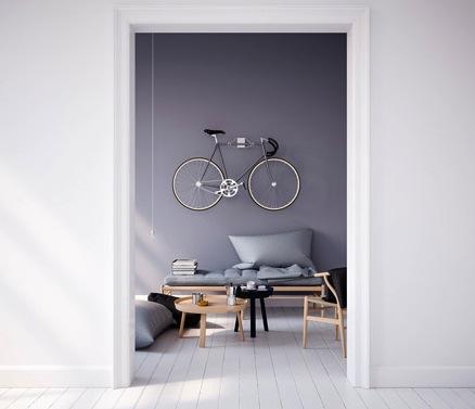 Un Joli Porte Vélo Pour Accrocher Son Vélo Au Mur Cest Déco