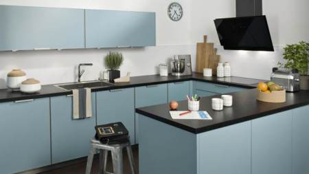 Cuisine-Bleu-pale-vert-menthe-Quelle couleur-choisir-pour-rénovation-darty-bleu