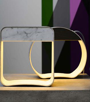 Luminaires-géométriques-suspendus-DESIGNHEURE-lampe-table-ronde-carré