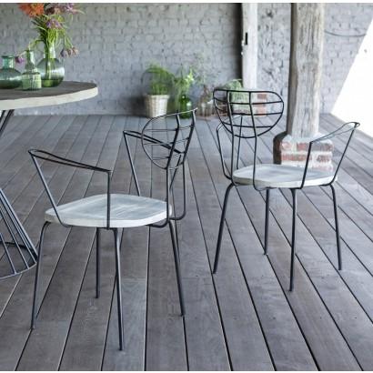 Quelles-tables-chaises-extérieur-choisir-nouveautés-fauteuil-de-jardin-metal-bois