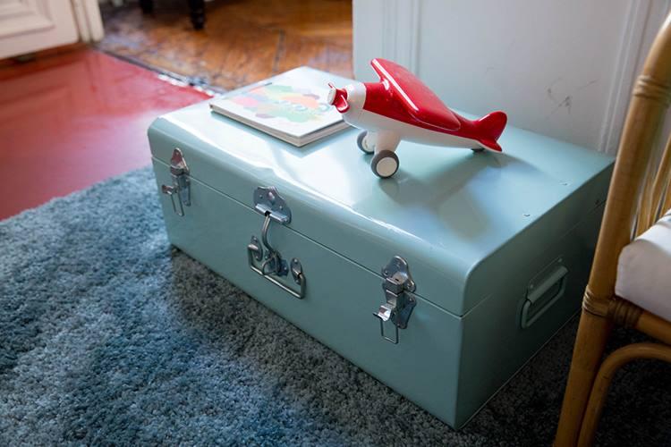 malette bleu la redoute chambre enfant