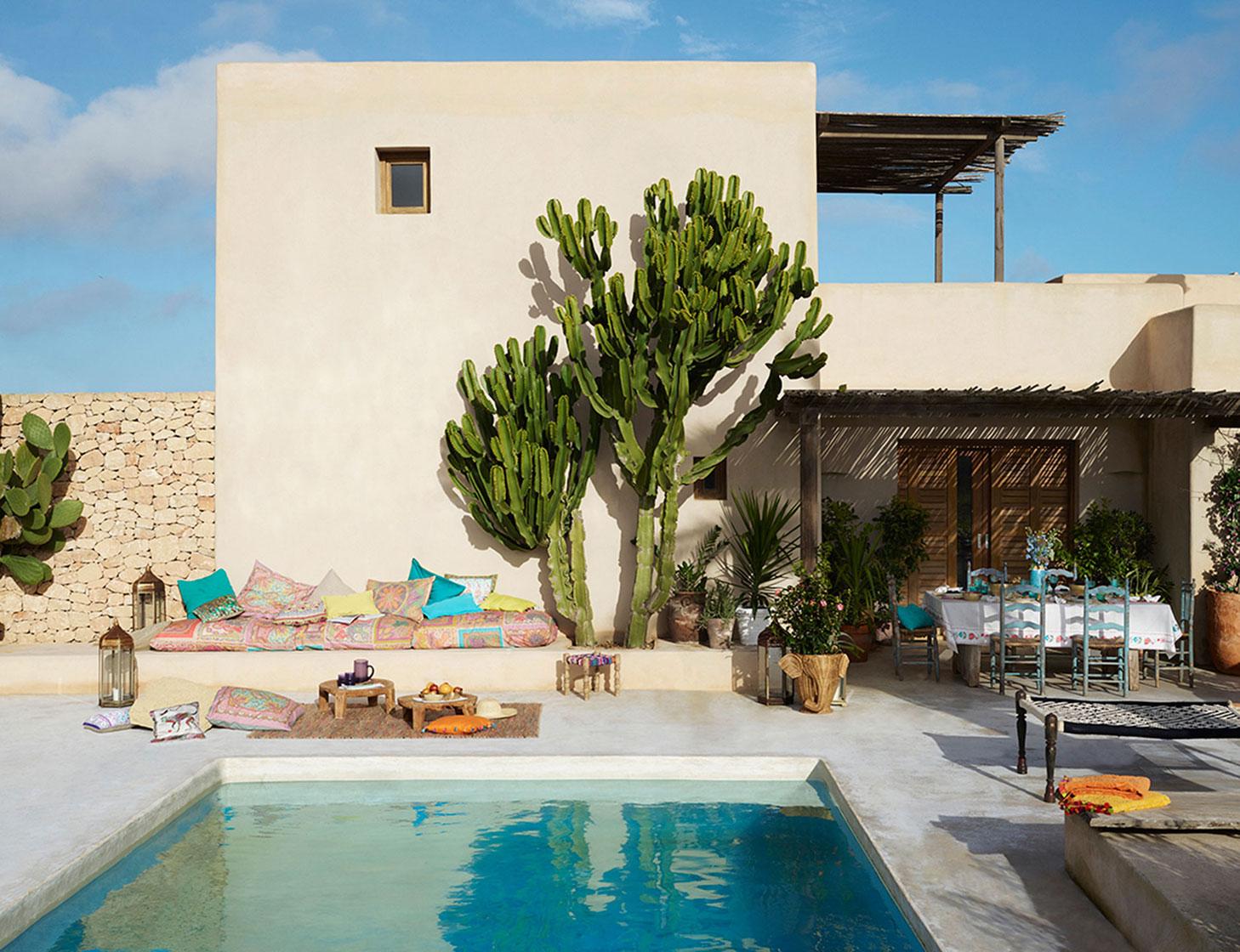 Le Cactus Aménage Une Terrasse Déco