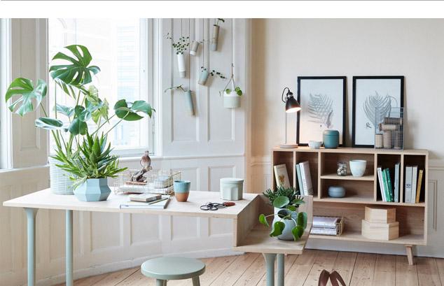 couleur-pastel-bureau-bois-clair-urban-jungle-hubsch
