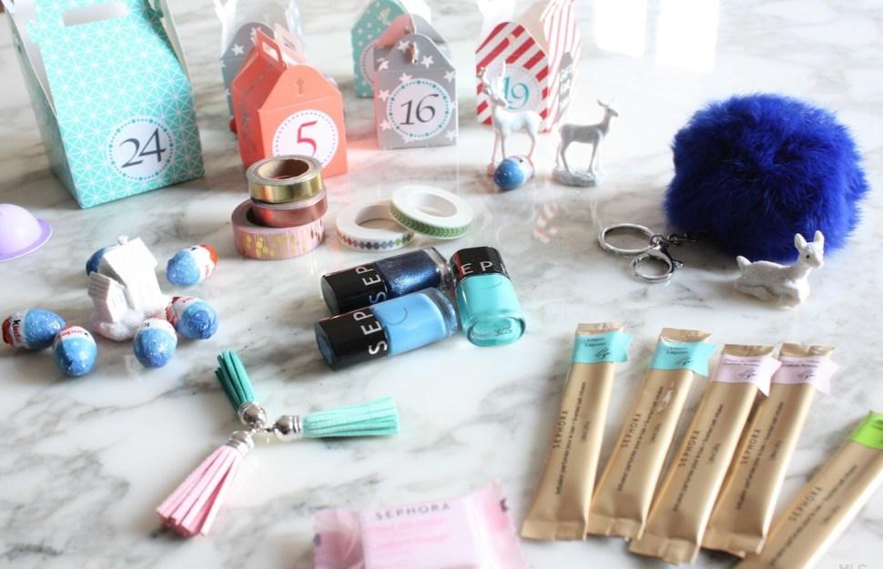 Idee Cadeau Pour Joli Calendrier De L Avent Fait Maison Blog Deco Mlc