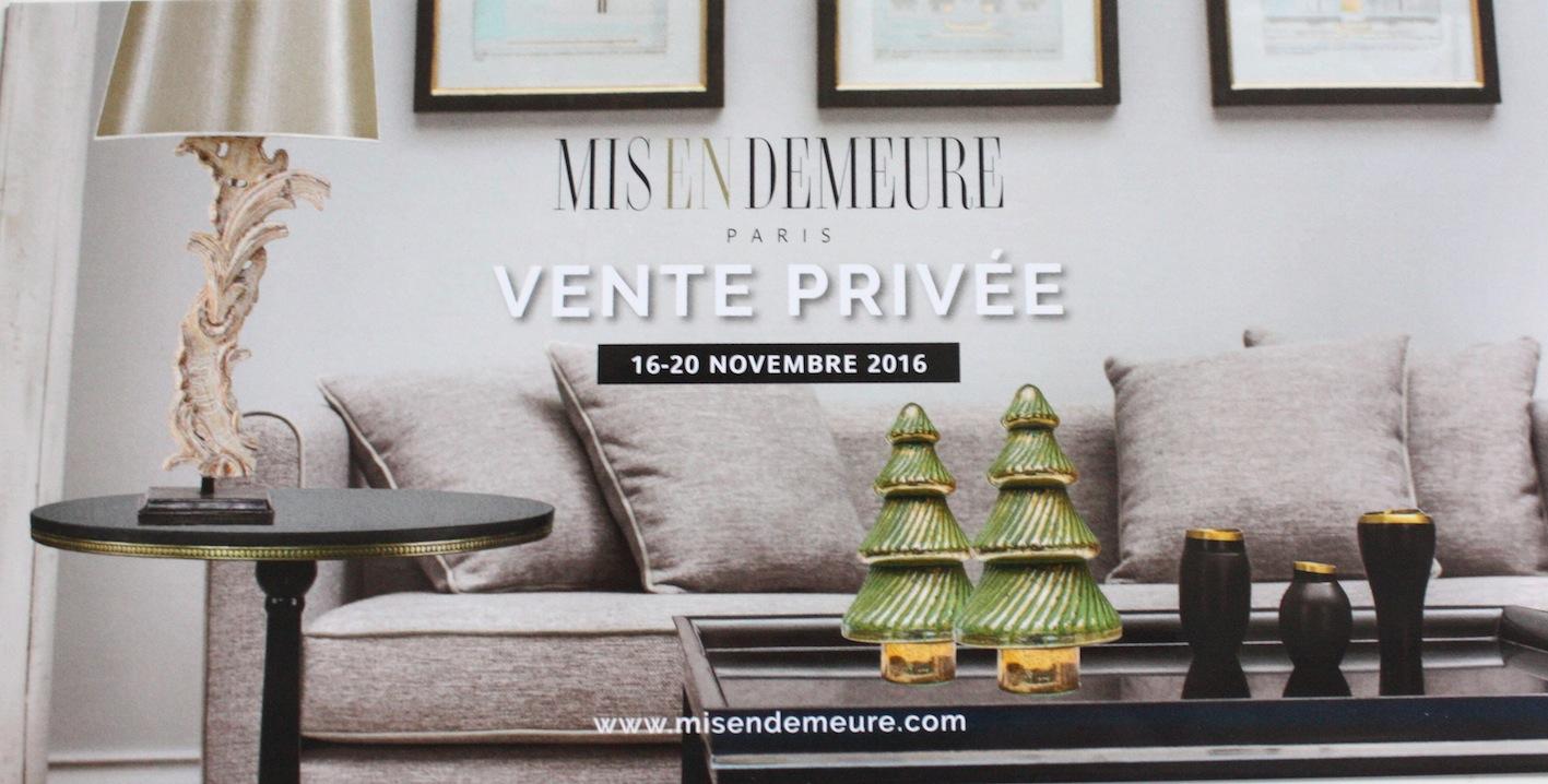 Vente privée déco et meubles chez Mis En Demeure - Le Blog ...