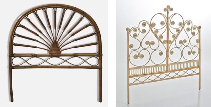 Les têtes de lit design du moment sont en rotin ou cannage - Le Blog ...