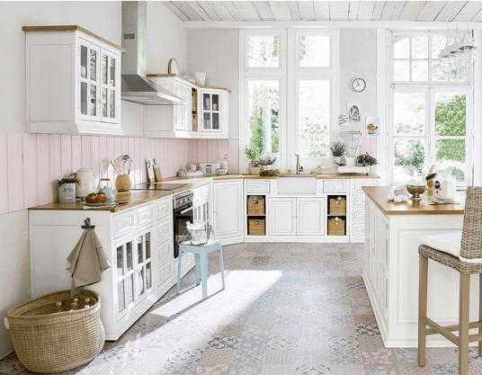 Meubles de cuisine ind pendant et ilot maison du monde - Cuisines maison du monde ...