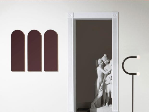 miroir arche design
