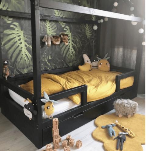 deco chambre enfant tropicale